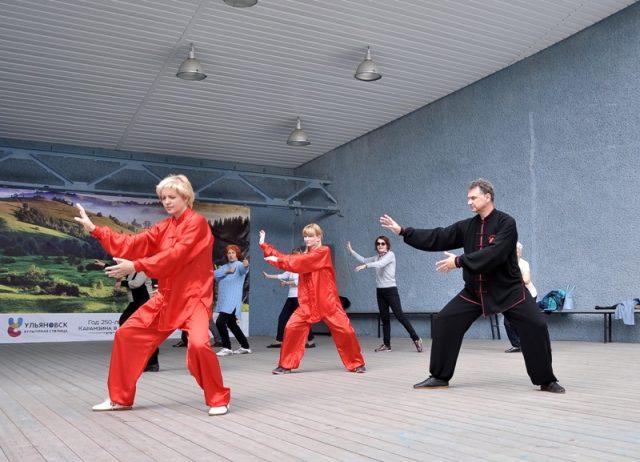 Мастер-класс по оздоровительной гимнастике Цигун @ Соборная площадь, 1 (дом Правительства Ульяновской области)