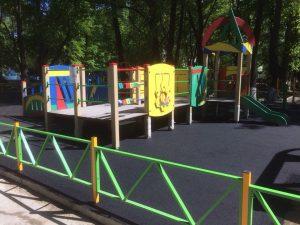 Официальное открытие игровой площадки для детей с ограниченными физическими возможностями @ Парк имени А. Матросова