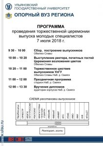 Торжественное шествие выпускников УлГУ @ Обелиск Славы