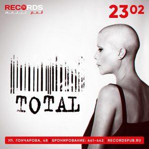 """Выступление группы """"TOTAL"""" @ Records Music Pub (ул. Гончарова, 48)"""