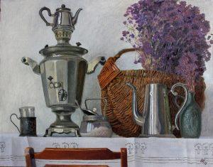 Выставка «Чай пить – приятно жить!» @ музей «Симбирское купечество»