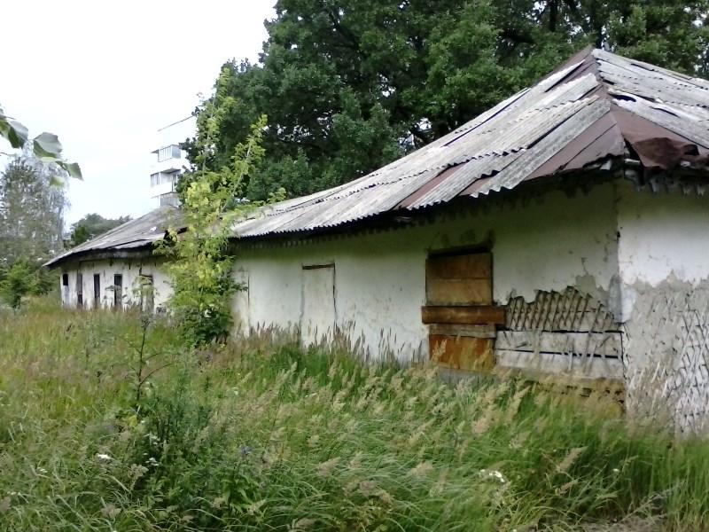 1. Барак летнего лагеря Симбирского кадетского корпуса. Посёлок Поливно.