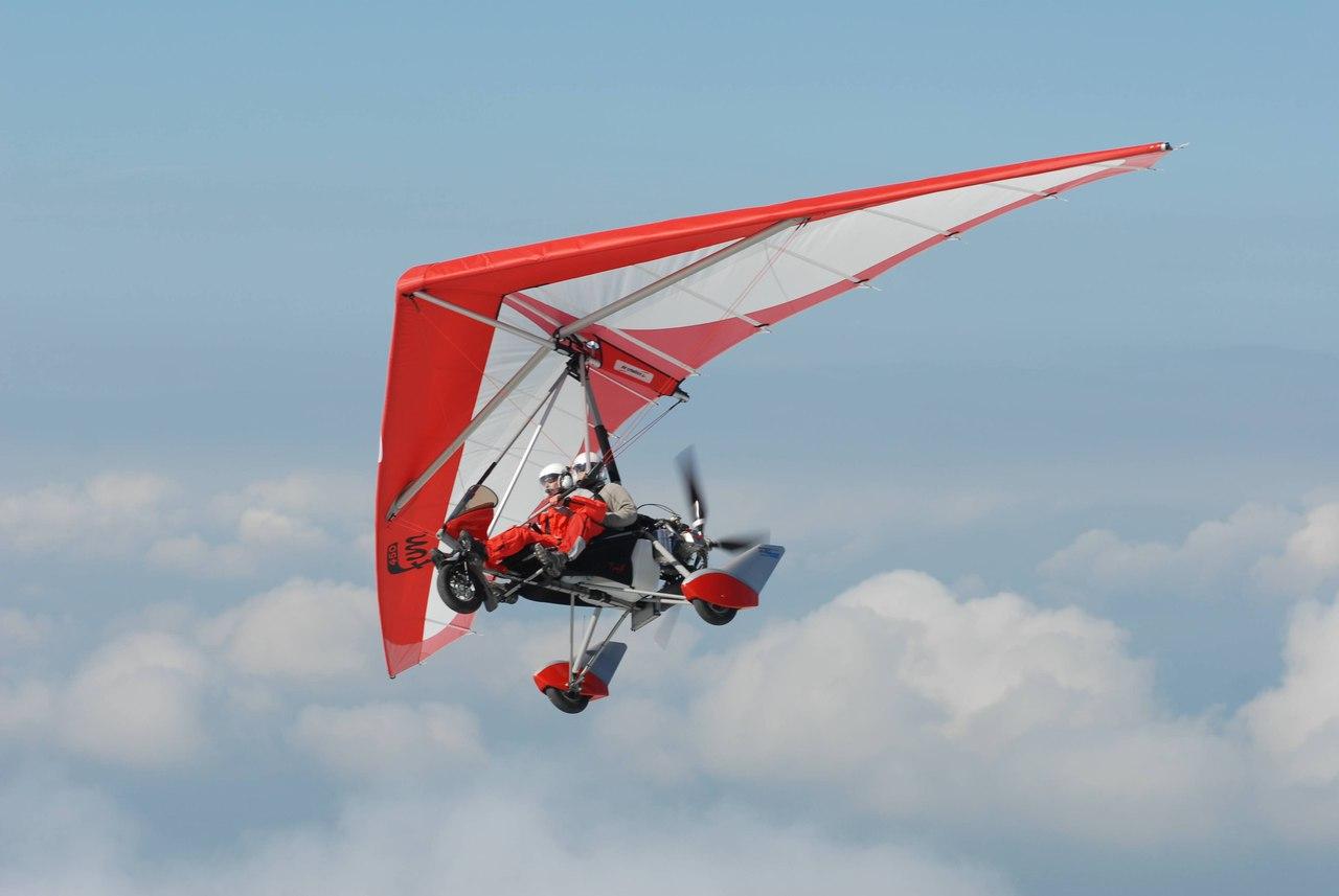 Как самому научиться летать на дельталете