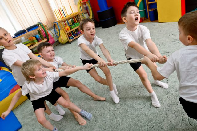 Финал фестиваля национальных неолимпийских видов спорта среди детей @  в детском саду № 100 (пр-т Ливанова, 6)