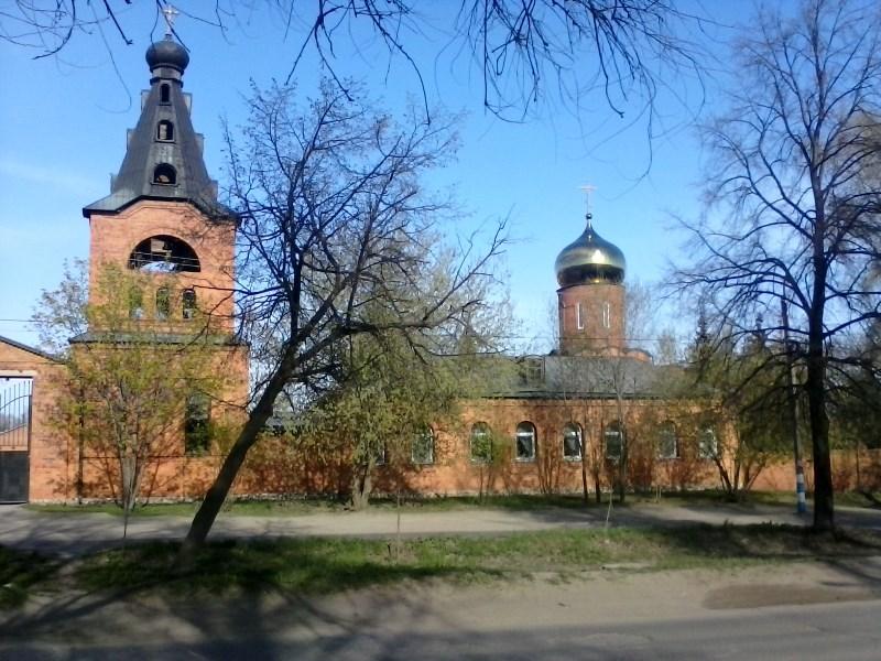 11. Храмовый комплекс на Верхней Террасе. Вид с улицы Волжской.