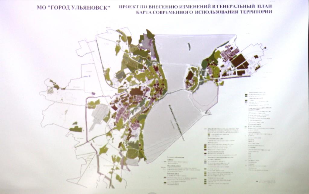 Карта современного использования территории