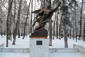 Митинг-реквием, посвящённый 95-летию со дня рождения Александра Матросова @  в парке имени А. Матросова (ул. Л.Толстого, 44)