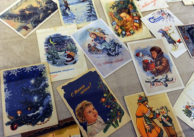 Как сделать выставку открыток