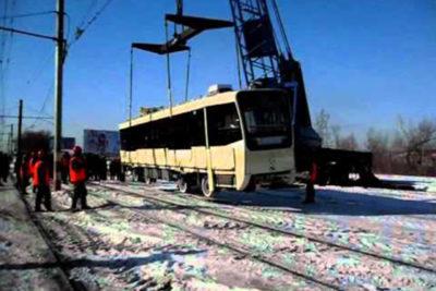 Практически как новенькие. ВУльяновске появятся 30 трамваев, привезённых из столицы