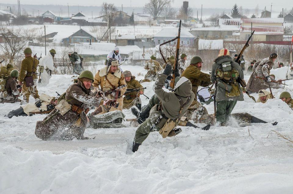 Военно-исторический фестиваль «Бессмертный подвиг» в селе Ивановка