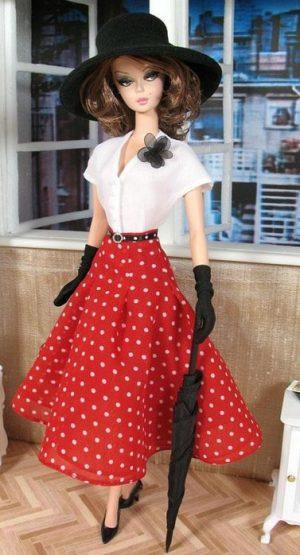 Занятие Техностудии ремесел «Кукольная мода»