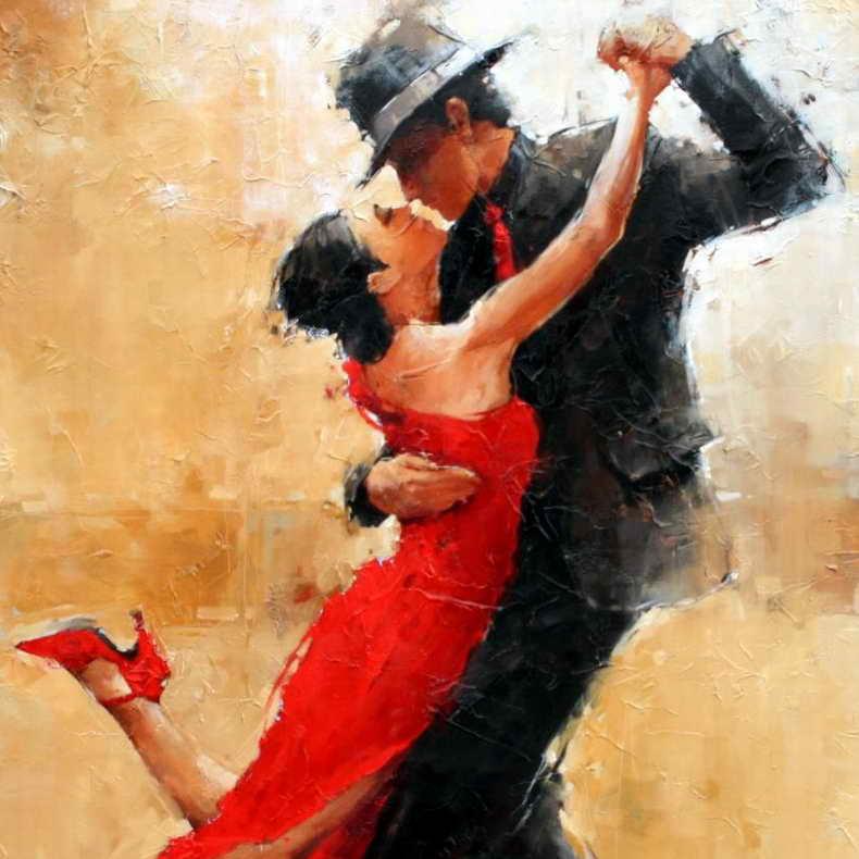 Бесплатный урок танго для начинающих вTangoDome @ (ул. Радищева, д. 6, 2 этаж)