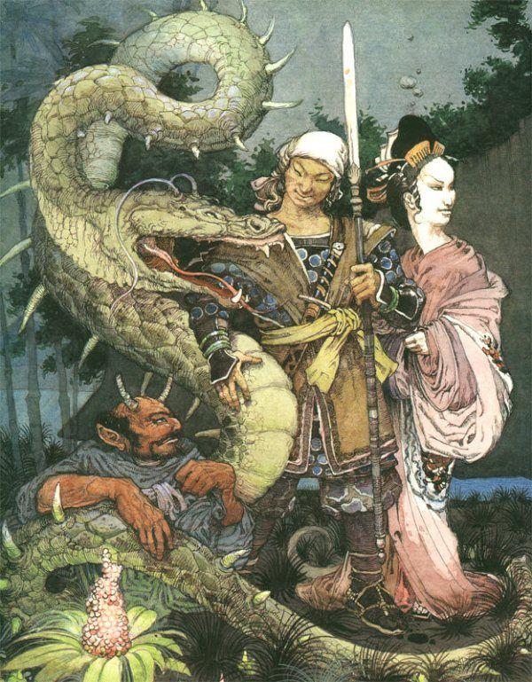Онлайн-чтение японских сказок от Центра японской культуры