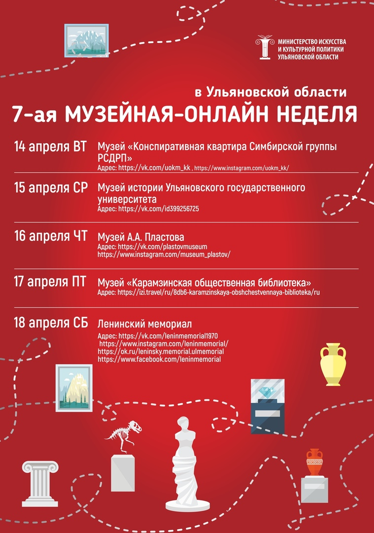 Седьмая музейная неделя, программа на четверг