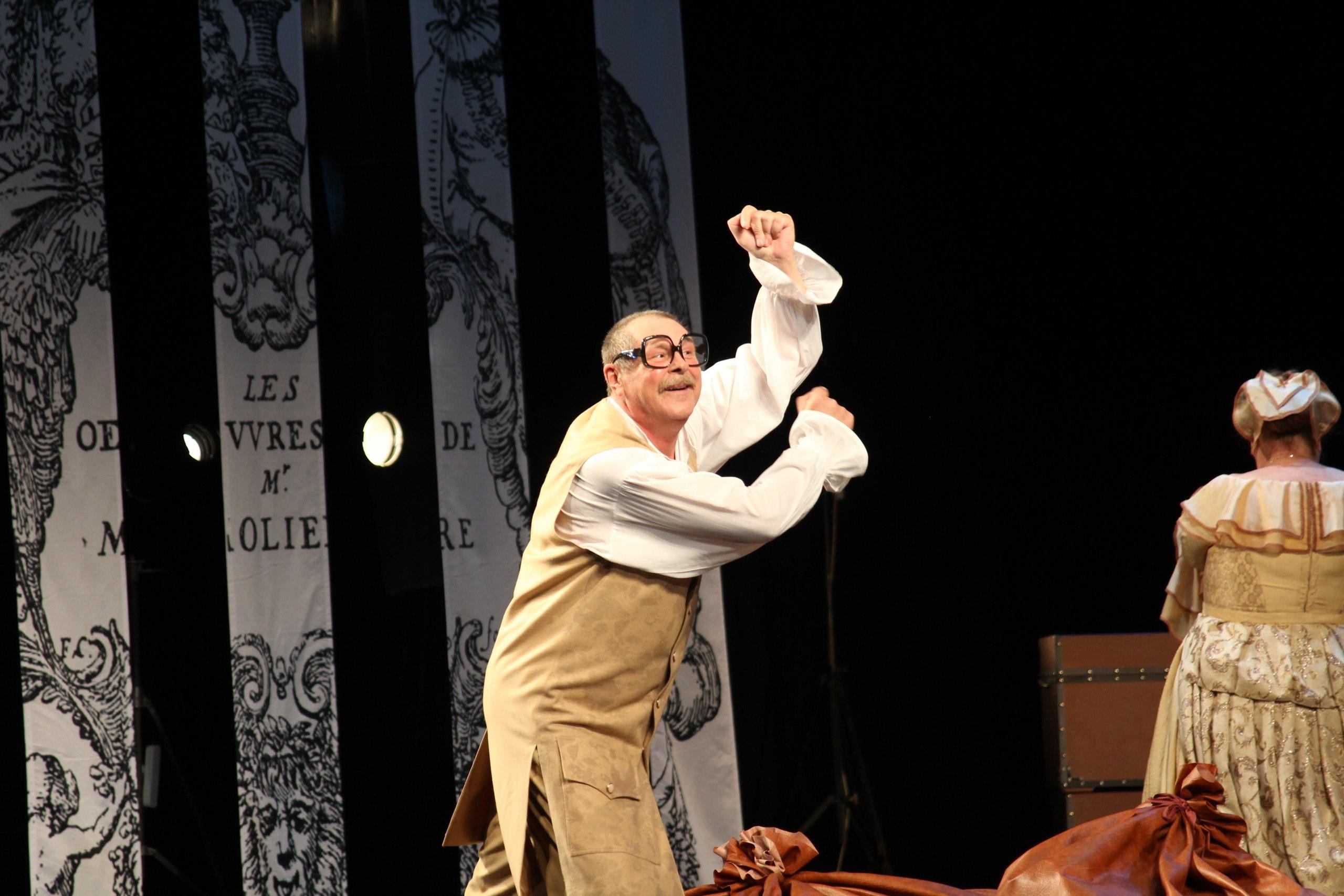 Онлайн-трансляция спектакля «Скупой» по пьесе Жана-Батиста Мольера