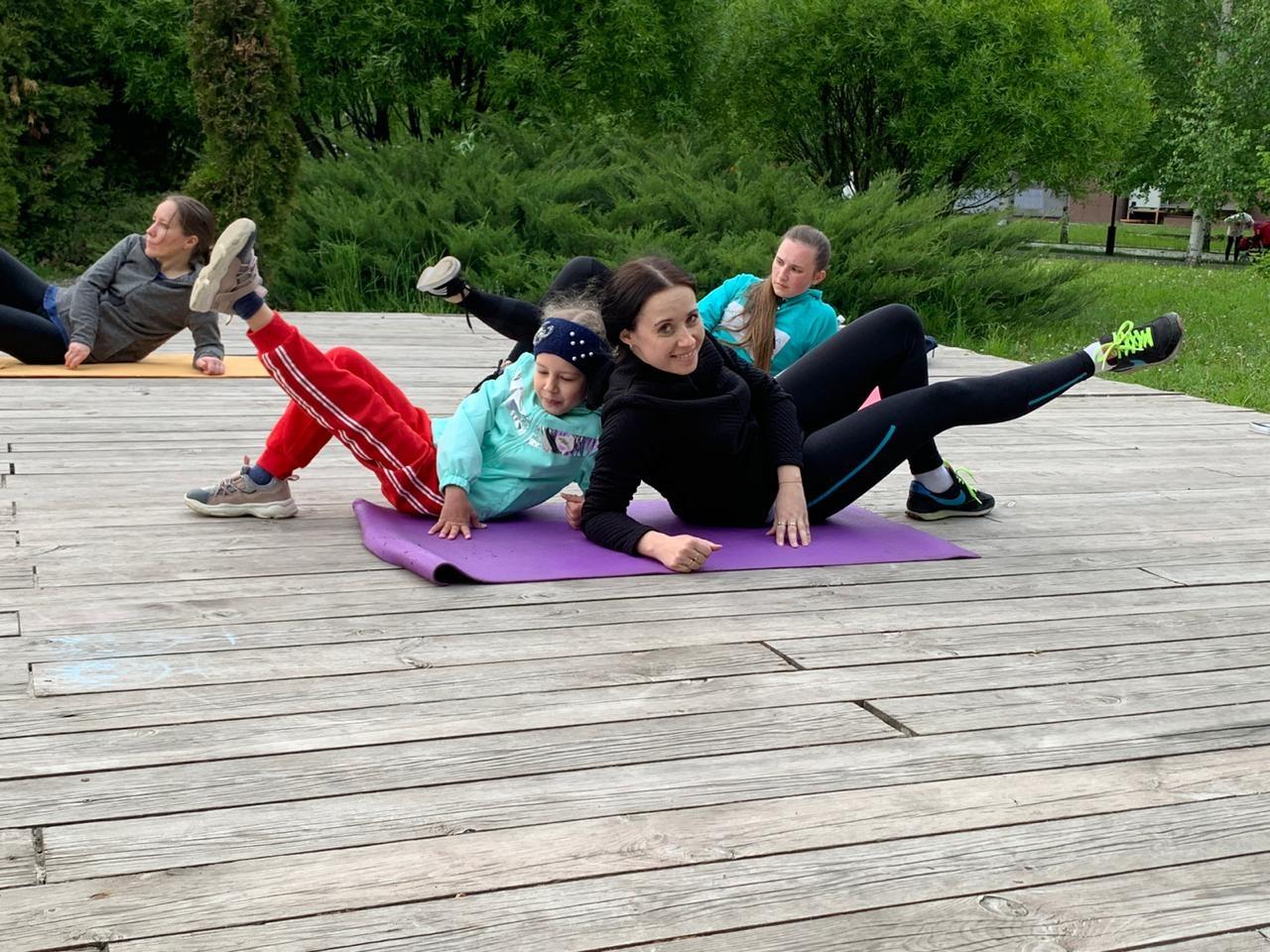 Оutdoor-тренировки в Александровском Парке на свежем воздухе