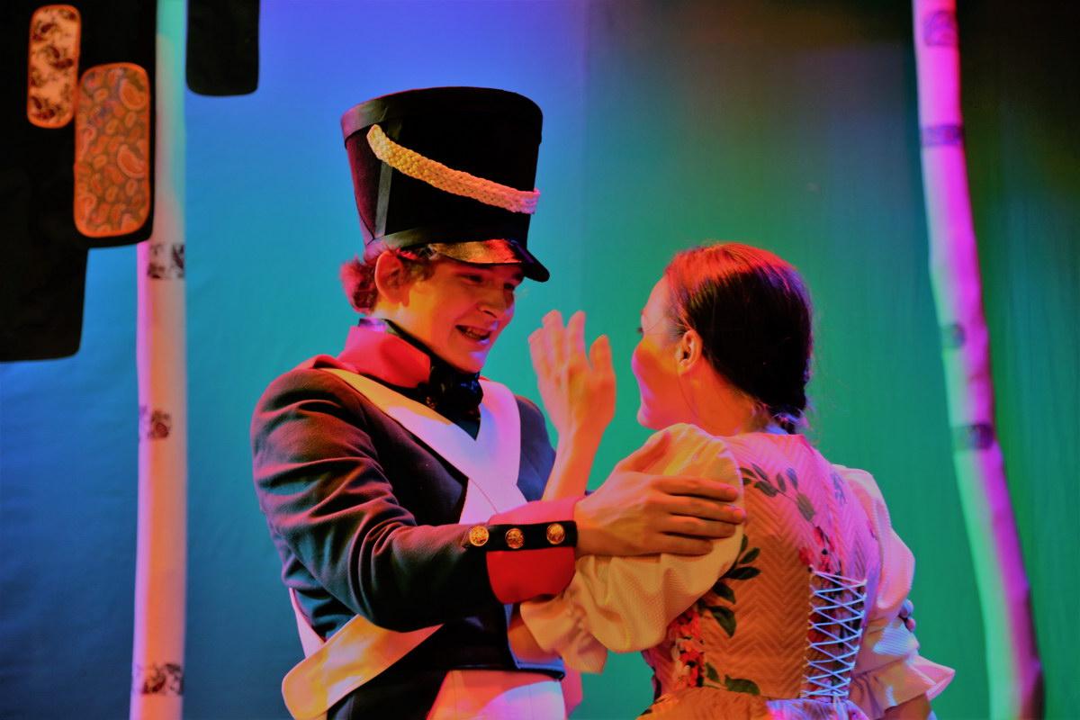 """Спектакль """"Сказка о влюблённом солдате"""" @ Nebolshoy театр (ул. Пушкинская, 1/11)"""
