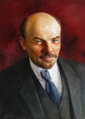 Обзор выставки «Ленин: знакомый и незнакомый» @ читальный зал Дворца книги
