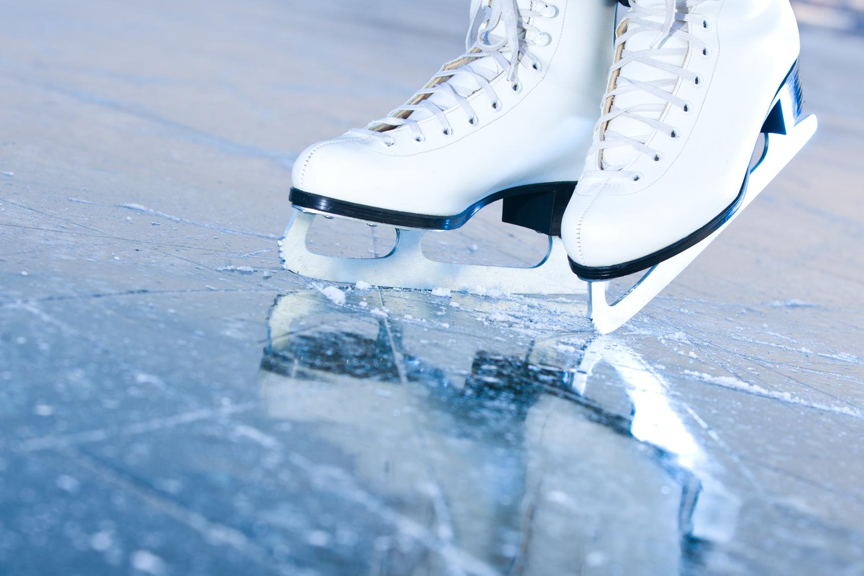 Массовое катание на коньках на Соборной площади @ Соборная площадь быв. площадь Ленина