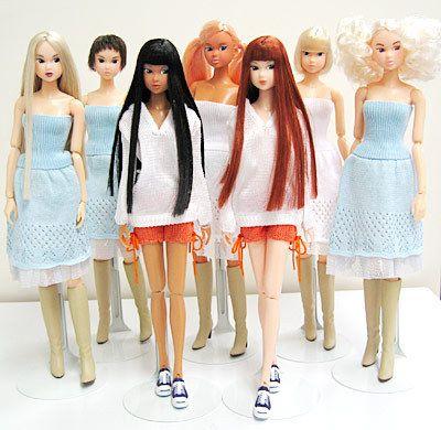 Выставка азиатских шарнирных кукол «OBITSU & MOMOKO» @ в Центре японской культуры Дворца книги