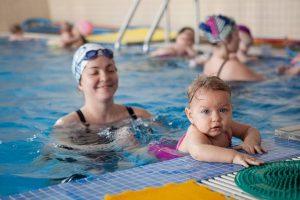 Чемпионат по грудничковому плаванию @ детская специализированная психоневрологическая больница №1 ( бульвар Киевский, дом 6а)
