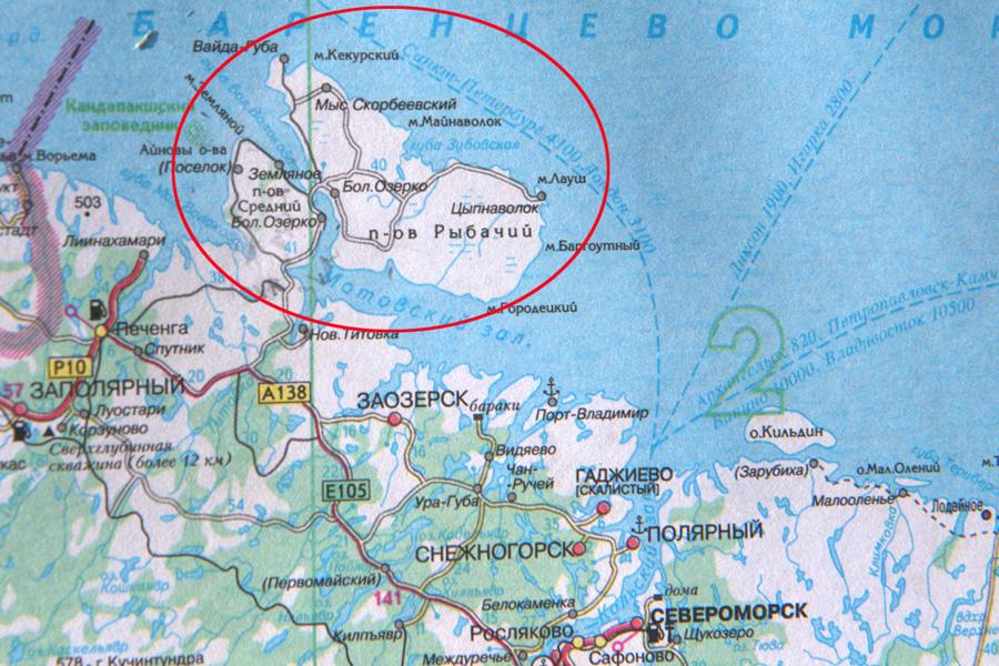 рыбалка для кольском полуостров полуостров  баба цыпнаволок