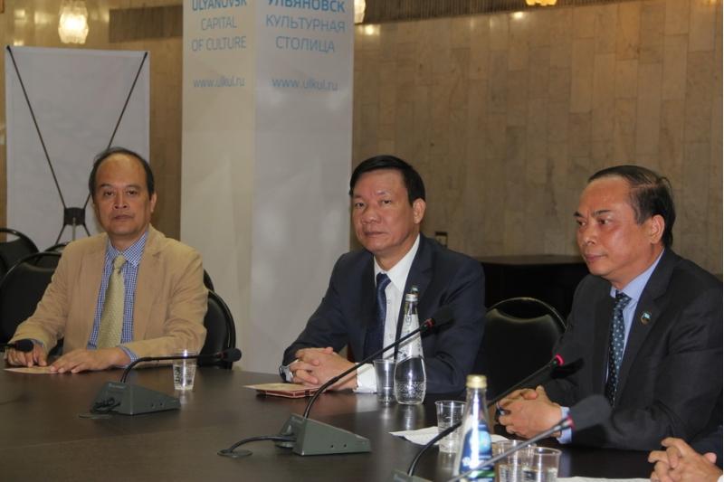 Делегации Командования по делам Мавзолея Президента Хо Ши Мина из Республики Вьетнам
