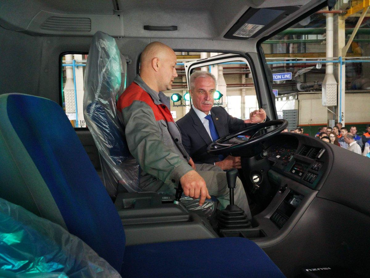 ВУльяновской области началось производство тяжелых фургонов Isuzu