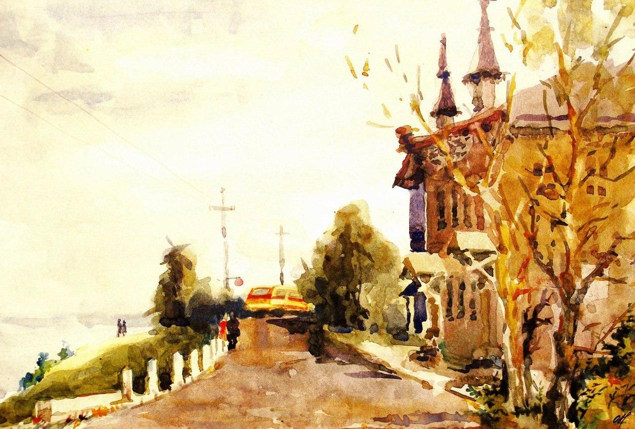 ульяновск в картинах художников станет пути