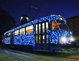 НЕСКУЧНЫЕ ВЕЧЕРА, экскурсия по вечернему городу на трамвае @ сбор группы у Северного трамвайного депо (ул.Радищева, д.165)