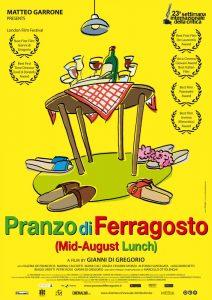 Фестиваль итальянского кино «Кино на блюде». Комедия «Праздничный обед жарким летом» @ Кинозал «Огюст. Люмьер» (ул.Радищева, д. 148)