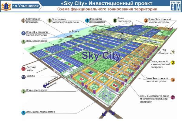 Под Ульяновском за 10 лет вырастет «микрорайон будущего» на 200 тыс. человек (фото) - фото 4