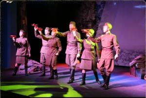 """Спектакль """"Концерт фронту"""" @ Nebolshoy Театр, Пушкинская ул., 1/11"""