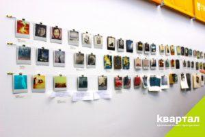 "Polaroid-выставка @ Креативное пространство ""Квартал"" (Ленина, 78)"