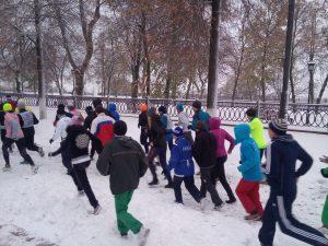 """Благотворительный забег """"Дари добро"""" @ Площадь Ленина"""