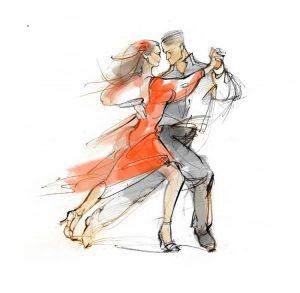 Открытое занятие по аргентинскому танго @  TangoDom студия танго (ул. Радищева, 6)