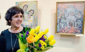 Открытие выставки сербской художницы Любинки Фимич во Дворце книги @ Дворец книги (б-р Новый венец, 5)
