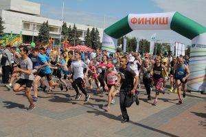 Зеленый марафон @ Площадь 100-летия со дня рождения В.И. Ленина