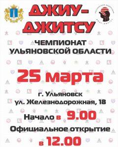 Чемпионат Ульяновской области по джиу-джитсу @ ул. Железнодорожная, д.18