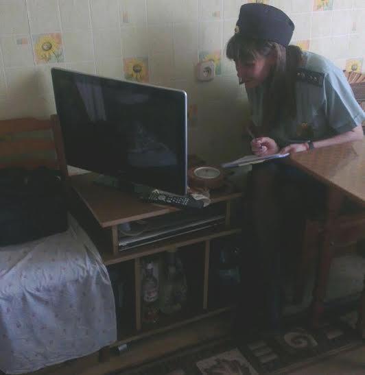 За реализацию арестованного телевизора жительнице Ульяновской области грозит уголовная ответственность