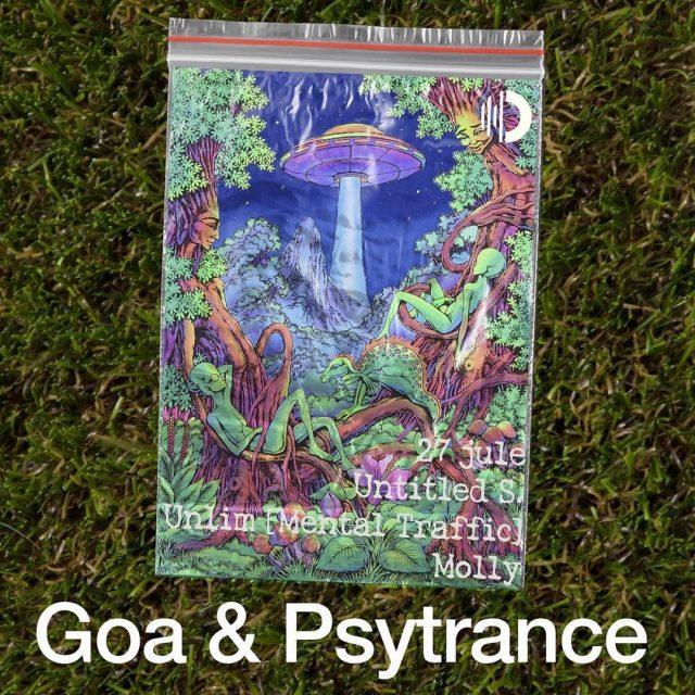 Вечеринка Goa&Psytrance в ночном клубе Ось @ Ось