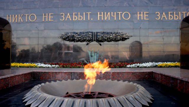Митинг, посвященный дню воинской славы @ Площадь 30-летия Победы