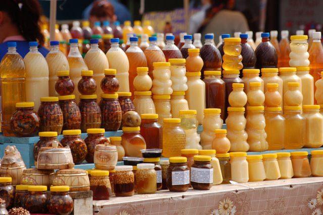 Ярмарка мёда на Соборной @ Троицкий переулке на Соборной площади