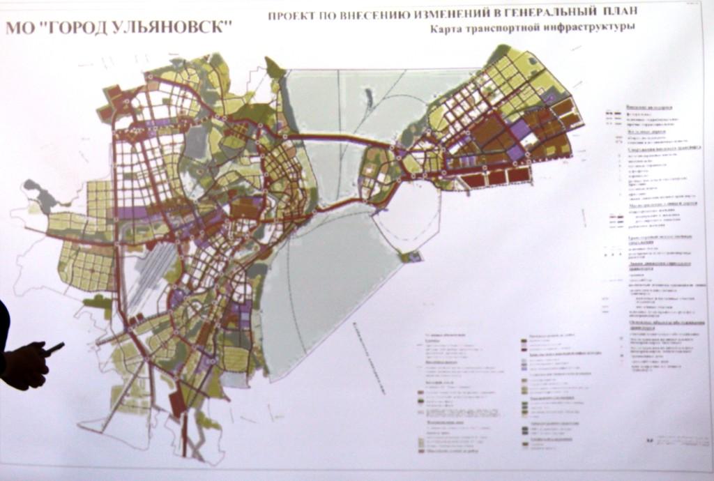 Карта транспортной инфраструктуры