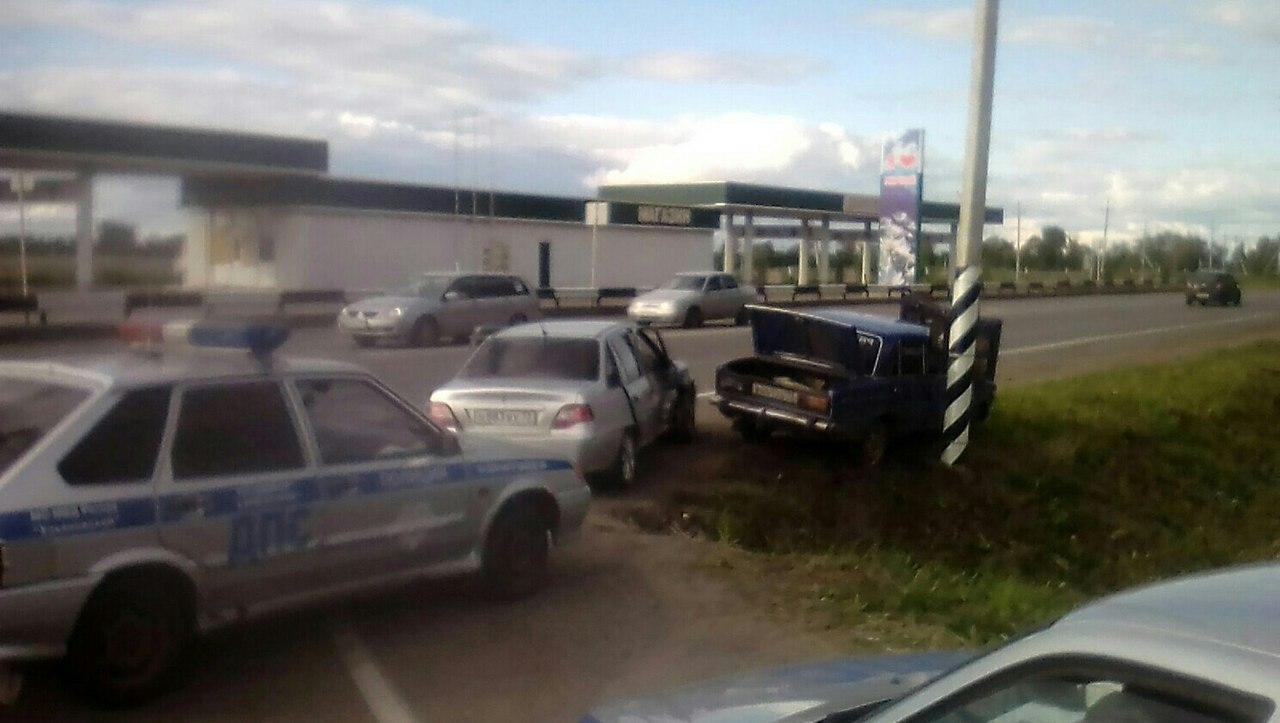 ВУльяновске работники ДПС устроили погоню за нетрезвым водителем