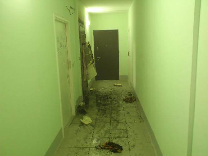 Наулице Скочилова вУльяновске загорелась квартира