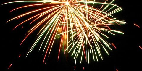 Праздничный фейерверк в честь Дня России @ Площадь Ленина