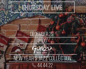 """Выступление группы """"Jazz Collection"""" @ Gonzo Bar (ул. Гончарова, д. 48)"""