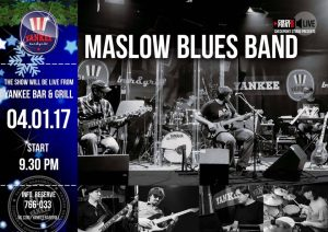 "Выступление группы ""Naslow blues band"" @ YANKEE Bar & Grill"