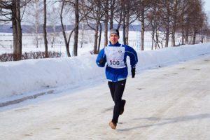 40-й традиционный легкоатлетический пробег, посвящённый памяти  Героя Советского Союза Александра Матросова @ Старт пробега - с. Отрада Ульяновского района